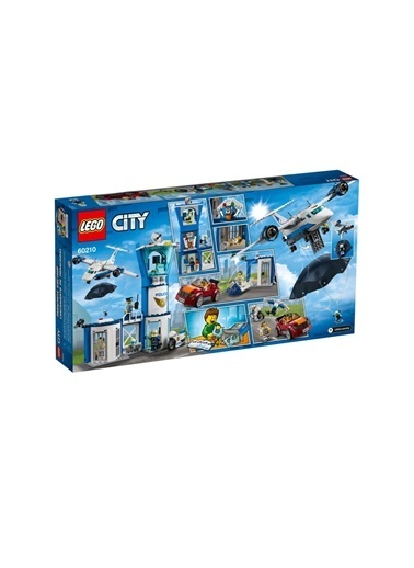 Lego Lego City S Police Air Base 60210 Renkli